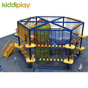 Latest Outdoor Rope Course Indoor Playground Physical Climbing with Many Different Styles