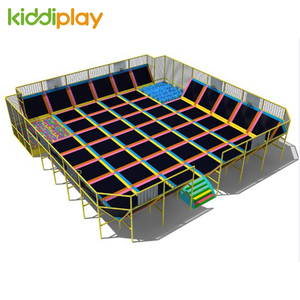 Hot Sale European Standard Gymnastic Indoor Trampoline Park for Adult And Children