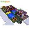 Large Parkour Trampoline with Indoor Playground Park