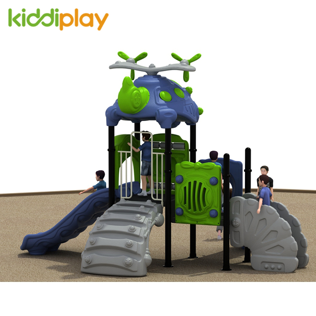 Customized Colorful Commercial Outdoor Kids Playground, Small Kids Slide Equipment Playground