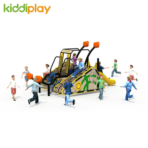 Wholesale PE board outdoor play children playground equipment