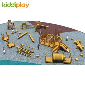Best Quality Physical Training Wooden Outdoor Playground for Sale