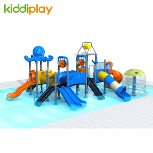 Children Plastic Playground Equipment Outdoor Water Slide Series