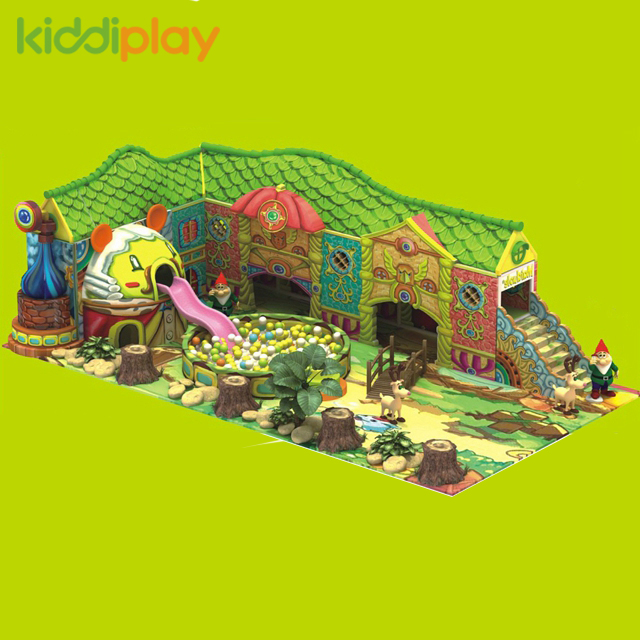 Kiddi Customized Plastic Indoor Playground Equipment