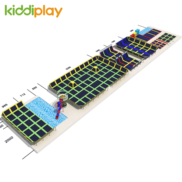 Professional Factory Commercial Big Indoor Trampoline Park Equipment for Sale