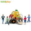 New Design PE Board Kids Outdoor Playground with Stainless Steel Slide