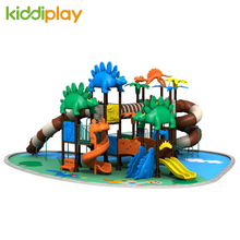 Animal Kids Play Outdoor Playground Equipment With Dinosaur Series