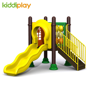 Plastic Type Small Series Outdoor Playground Slide for Kids