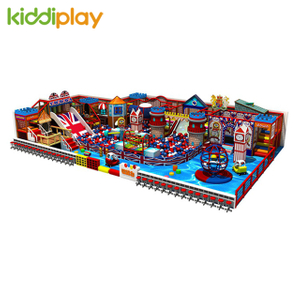 China Manufacture Kids Play Area Backyard Equipment Indoor Playground for Kids
