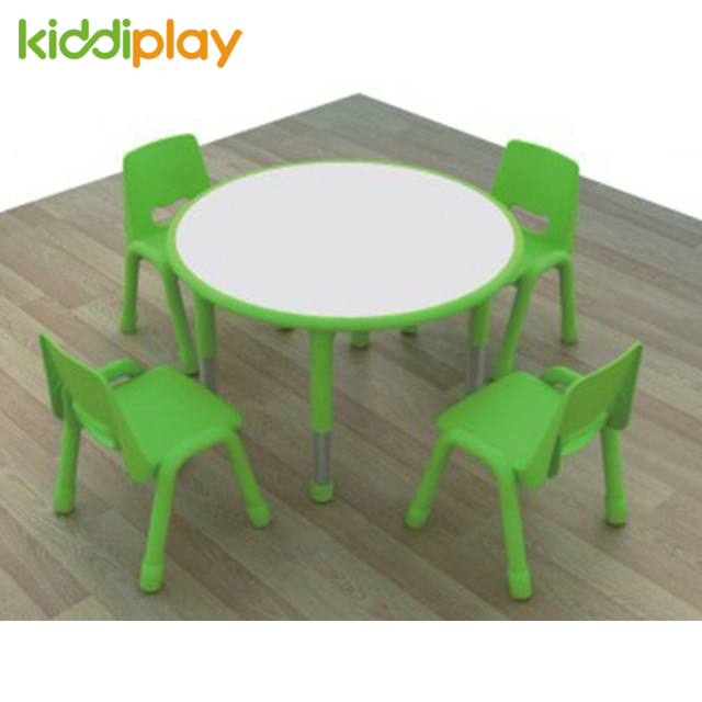 Beautiful Children Furniture Plastic Kids Round Stool Table