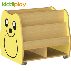 Indoor Kids Wood Bookcase
