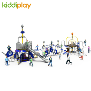 Hot Sale Children Playground Composite Gym Set Outdoor Climbing Structure