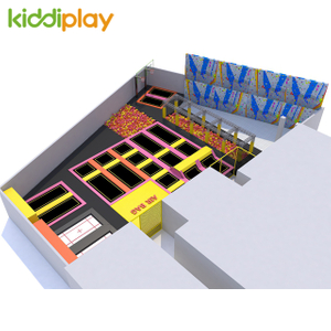 Customized Comprehensive Indoor Trampoline Park for Sale
