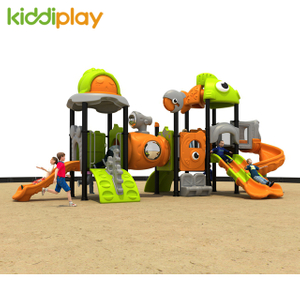 Used Children Park Plastic Slide Outdoor Playground Equipment for Ocean Series