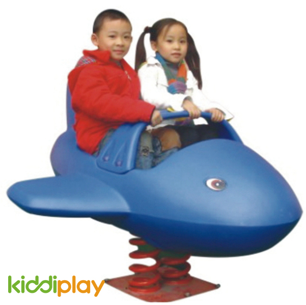Double Puppy Spring Rider for Kids Play