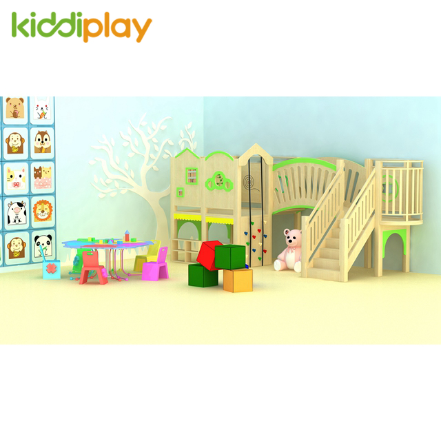 Happy Children Indoor Wooden Soft House