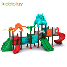 Dinosaur Series Colorful Outdoor Playground Slide in The Park