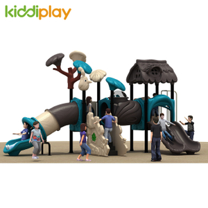 Best Price High Quality Plastic Outdoor Kids Playground, Preschool Amusement Equipment For Sale