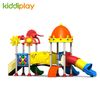 Castle Series Plastic Slides Type Kids Outdoor Playground Equipment