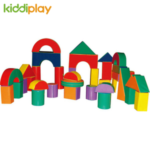 Happy Childhood Jumbo Foam Indoor Building Blocks Toddler Play Ground Soft Blocks