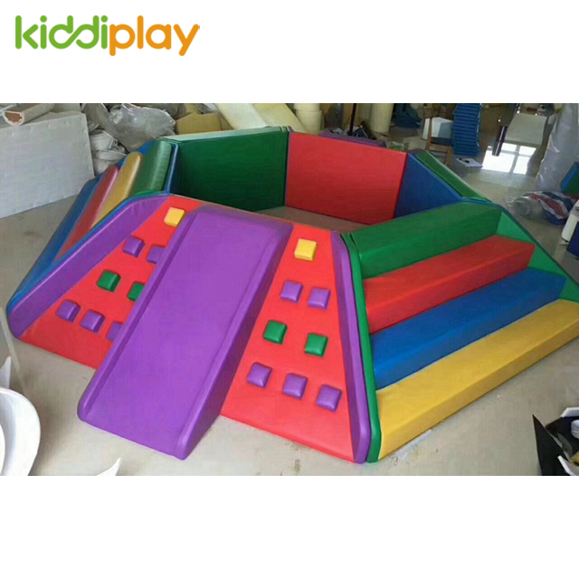 Mini Kids Indoor Playground Soft Play Equipment Ball Pit for Sale