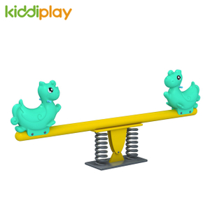 Outdoor Children Toy on The Seesaw