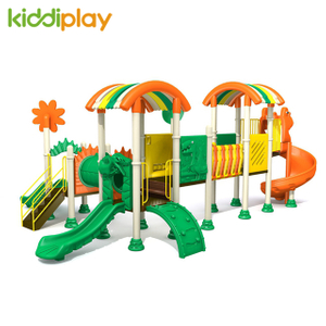 Hot Sale Commercial Plastic Kids Outdoor Playground Equipment