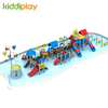 Outdoor Playground Water Park Equipment Slides Series For Children