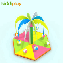 Indoor Playground Electric Motion Soft Toys Coconut Tree Swing