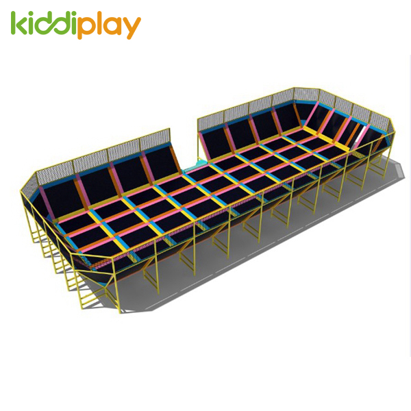 Good Quality Indoor Trampolines For Commercial Playground