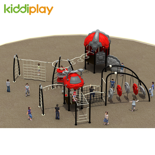 Outdoor Toys Children Playground Equipment, Kids Plastic Play House Outdoor Playground for Sale