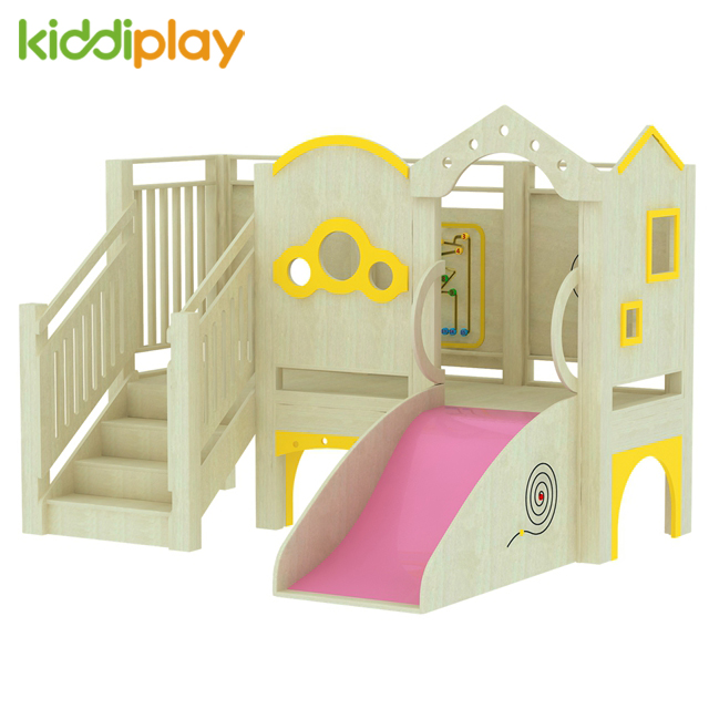New Design Indoor Modern School Solid Wood Furniture Play Ground For Wholesale