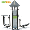 Multi functional Outdoor Exercise Machine Adult Fitness Playground Equipment