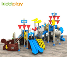 Factory Price Outdoor Games Pirate Ship Series Kids Playground Plans Amusement Park