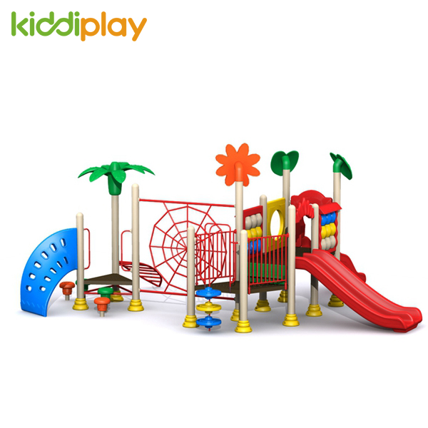 Outdoor Cheap Plastic Children Playground Slide Equipment