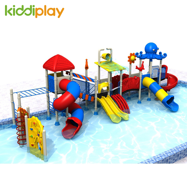 Outdoor Playground Water Park Equipment Water Slides Series For Sale