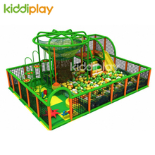 Small Crocheted Indoor Playground for Kids Play Equipment