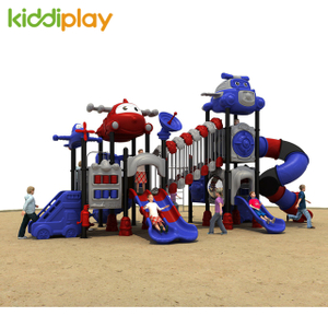 Color Optional Large Airport Series Slides Children Outdoor Playground Equipment