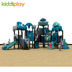 Large Recreation Outdoor Playground Dream Ocean World Slide Equipment