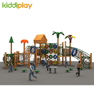 Popular Child Outdoor Wooden Playground