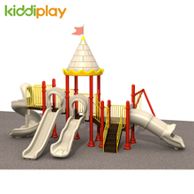 Safety Castle Series Customized Color Option Plastic Kids Outdoor Playground