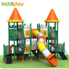 Plastic Slide Center Castle Series Preschool Toys Outdoor Playground Amusement Park