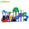 High Quality Used School Outdoor Steel Playground Plastic Slide Dinosaur Series