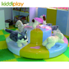 Indoor Electric Motion Soft Toys Merry Go Round Playground Accessories
