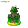 Newest Soft Green Castle Kids Indoor Playground Equipment