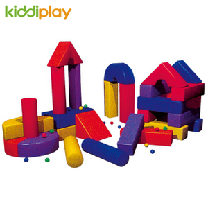 High Quality New Arrival Indoor Toddler Play Soft Building Block Playground