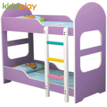 Hot Sale School Furniture Colorful Wood Children Bed