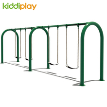 Hot Sale Outdoor 4 Site Swing Playground Metal Rope Swing