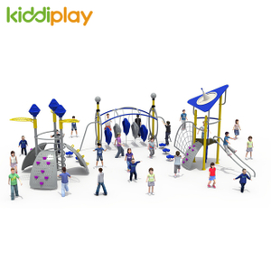 Outdoor good climbing slide play set