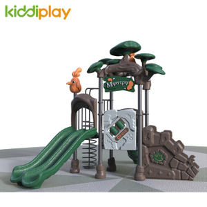 Multiplayer Kids Adventure Children Play Slide Plastic Playground Equipment